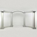 Arch – Colonnade Greek White