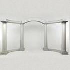 Arch – Colonnade Greek White