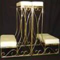 Bench – Kneeling Brass (per pair)