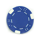 Casino Chips, Blue 500 count