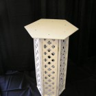 Stand – Lattice Large White