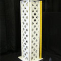 Stand – Lattice Small White