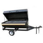 BBQ Grill, Charcoal 3′ x 6′ Covered