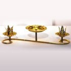 Candelabra, Unity Tabletop – Gold
