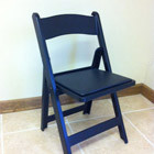 Chair – Black Padded