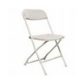 Chair – Folding White