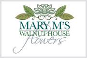 Mary M's Florist Logo
