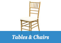 Perfect Parties Tents & Events - Tables & Chairs