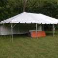 Tent, Frame 20 x 30 White Traditional