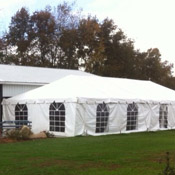 Tent, Frame 20 x 50 White Traditional
