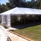 Tent, Frame 20 x 60 White Traditional