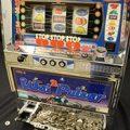 Slot Machine w/ Coins