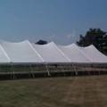 Tent, Pole 40 x 120 White High Peak