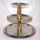 Party Tray, Stainless 3 tier