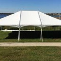 Tent, Frame 30 x 40 White Traditional
