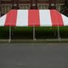 Tent, Frame 20 x 40 Red & White Traditional