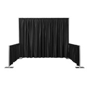 Pipe & Drape, 10' x 10' Booth 8' ht.