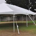 Tent, Frame 30 x 50 White Traditional
