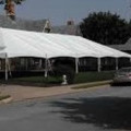 Tent, Frame 40 x 140 White Traditional