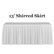 Linen, Skirt Shirred