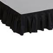 Bloomington event rentals - stage skirting