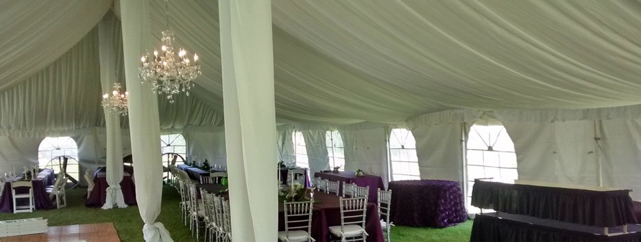 Bloomington Equipment Rental - Tent Liner 1