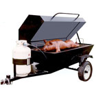 Slow Roaster Grill, Propane 3′ x 6′