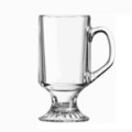 Irish Coffee Mug with Stemmed Bases, 8oz