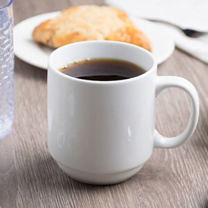 White Coffee Mug 11.25oz