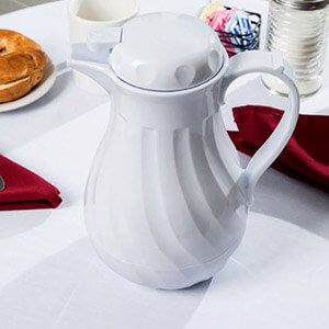 White Thermal Coffee Carafe 42oz