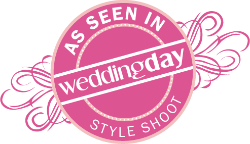 WeddingDay Magazine Style Shoot badge